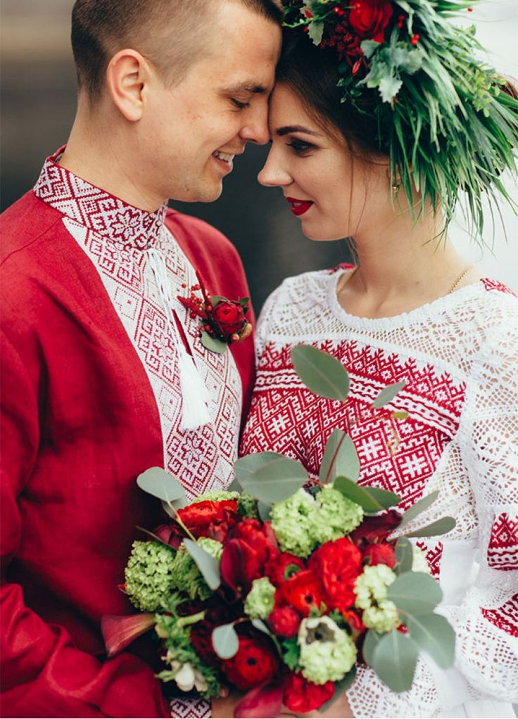 Свадебная одежда для этно церемонии В-10