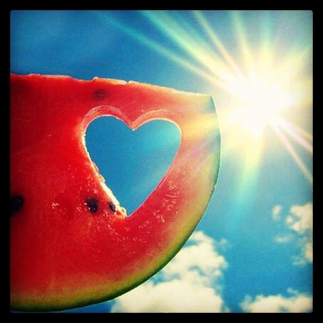 Fresh watermelon at the Farmers Market - Statesboro