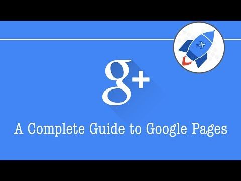 Level 1 - Academy VIDEO A Complete Guide to Google Pages