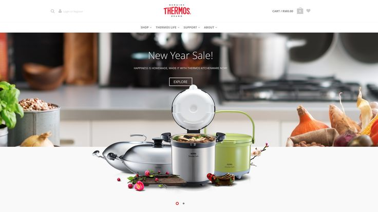Thermos power their Malaysian online store with WooCommerce and use an impressive number of extensions including:  WooCommerce Coupon Campaigns Recommendation Engine Brands iPay88 Gateway Smart Coupons Table Rate Shipping Variation Swatches and Photos Chained Products Print Invoices & Packing lists Dynamic Pricing  Check out their store at thermosmalaysia.com
