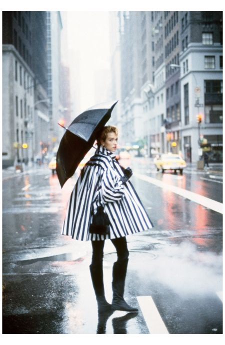 Tatjana Patitz, Peter Lindbergh, Vogue, August 1989