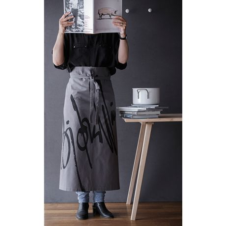 The apron is perfect for the gastronom who has everything, and prefers a more discreet nod to Bjørn Wiinblad's designs at the stove. #bjørnwiinblad