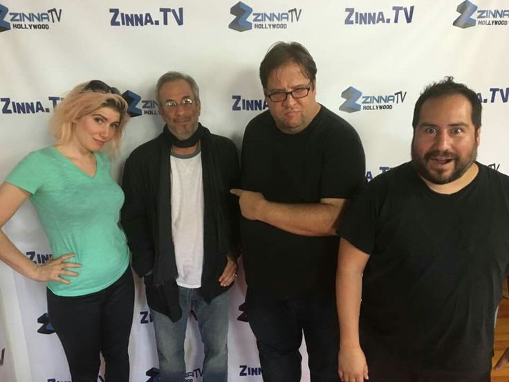 "With incredible TV sitcom writer/producer IAN GURVITZ who worked on ever episode of ""Becker,"" a ton of other shows and is author of the hilarious new satire book ""Welcome to Dumbf*ckistan"" on ""Grown-Ass Men"" with hosts Christina Hepburn, Carl Kozlowdki and Ed Galvez on www.zinna.tv!"