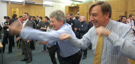 In Pictures: MPs wrestling with video games   Latest news from the game development industry   Develop
