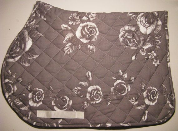 saddle pad now with free shipping by sweetHADA on Etsy