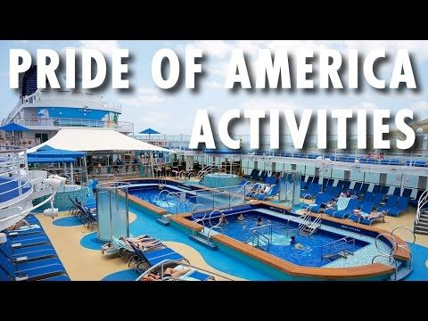 ▶ Pride of America Review & Tour: Activities ~ Norwegian Cruise Line ~ Cruise Ship Review & Tour – PopularCruising.com