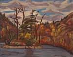 Beautiful! Sir Frederick Banting, creator of insulin and respected amateur painter who painted with Group of 7