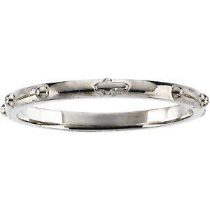 Premium Palladium Rosary Ring Enlightened Expressions. $228.55. 1.55 DWT ( 2.41 grams). Polished. Palladium. SIZE 06.00