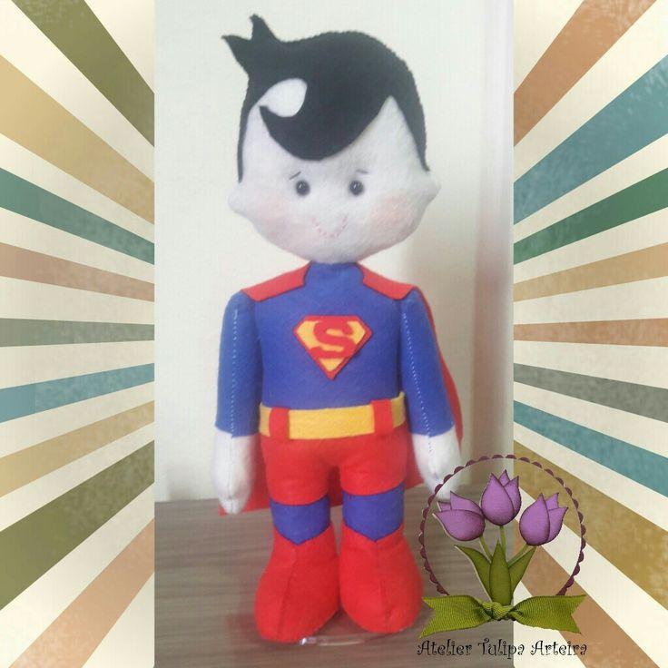 Superman feltro