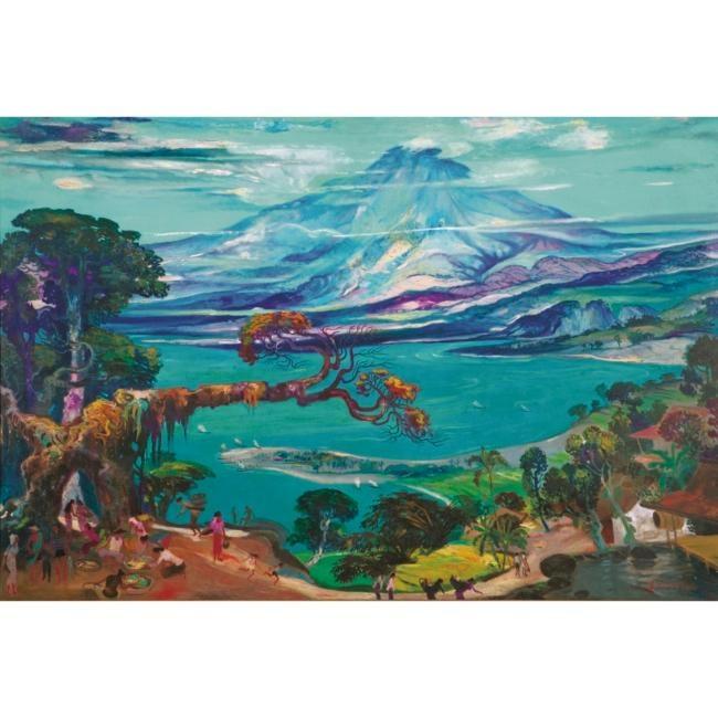 Hendra Gunawan, Landscape