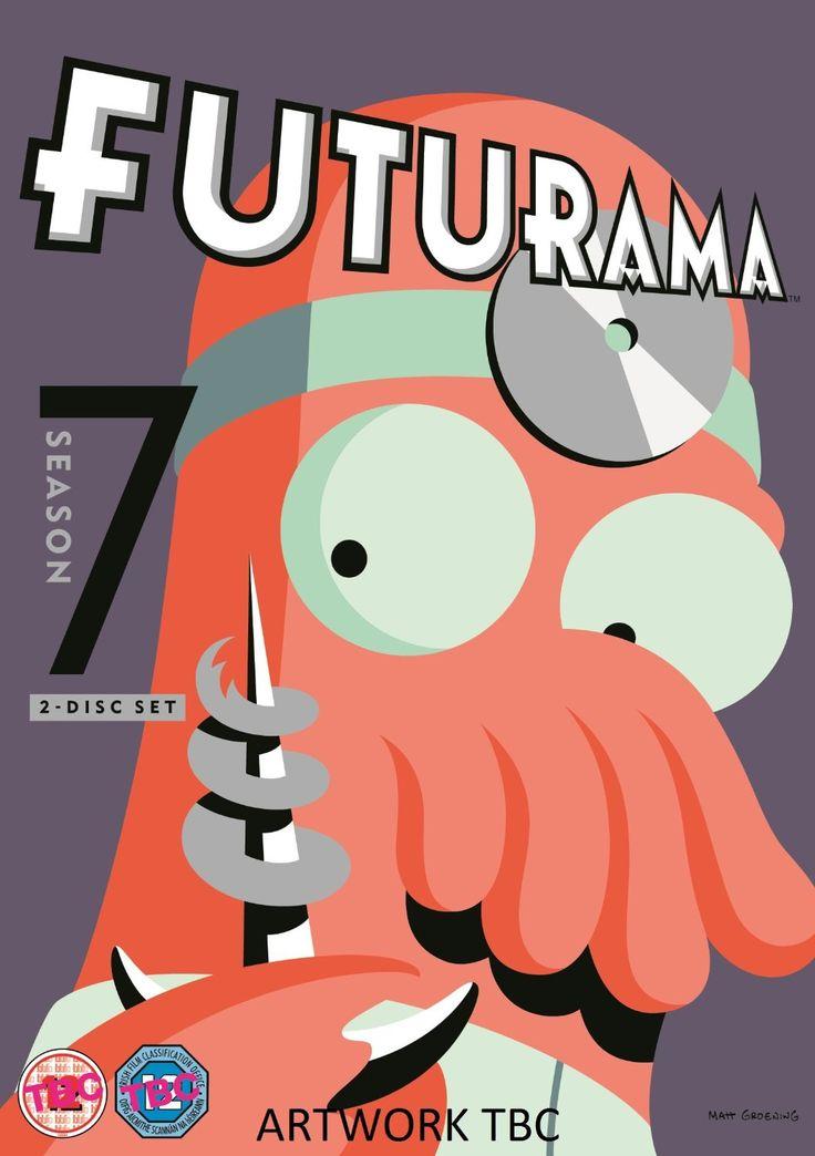 Futurama - Season 7 [DVD] [2014]: Amazon.co.uk: Billy West, Katey Sagal, John DiMaggio, Tress MacNeille, Lauren Tom: DVD & Blu-ray
