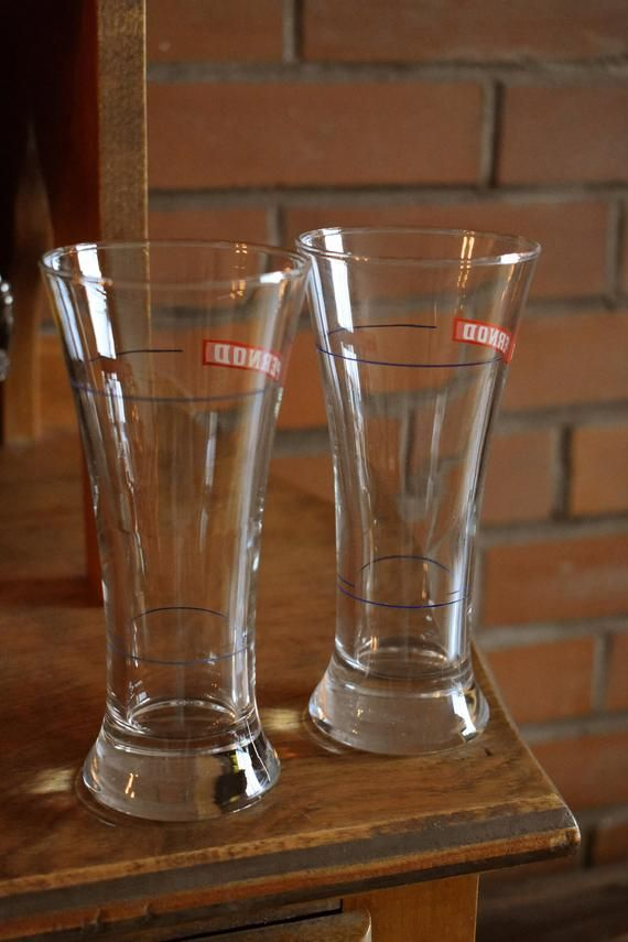 Pernod Glass New
