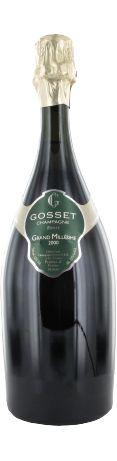 Gosset Brut Grand Millésime blanc 2000 - Champagne - 16/20 : Expression d'une grande année. Champagne à dominante chardonnay avec fraîcheur et puissance. Notes d'abricot, d'ananas et de pêches de vigne. En savoir plus : http://avis-vin.lefigaro.fr/vins-champagne/champagne/champagne/d13231-domaine-gosset/v13232-gosset-brut-grand-millesime/vin-blanc/2000#ixzz3B1Ec6g00