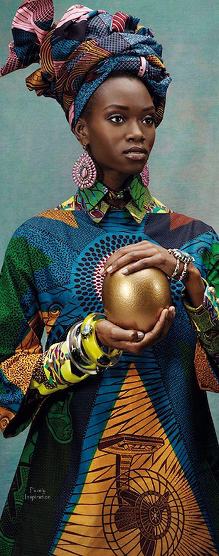 African Inspired Fashion Koen Hauser, Photographer | Purely Inspiration
