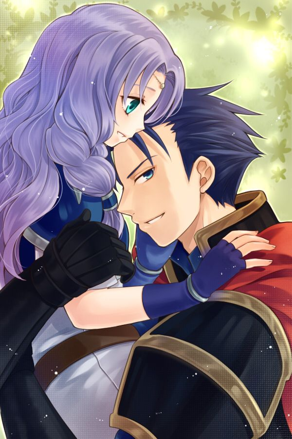 Florina and Hector from Fire Emblem