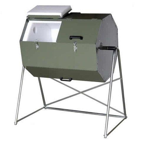 70 gallon tumbling compost bin tumbler
