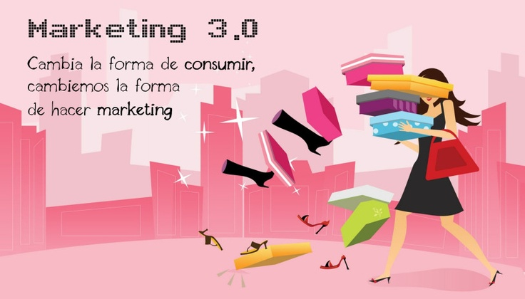 Marketing 3.0: Cambia de forma de consumir, cambiemos la forma de hacer marketing... (pinned by @ricardollera)