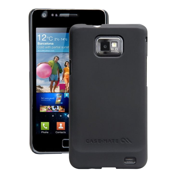 Case-Mate Barely There [Black], Etui dla GALAXY S2