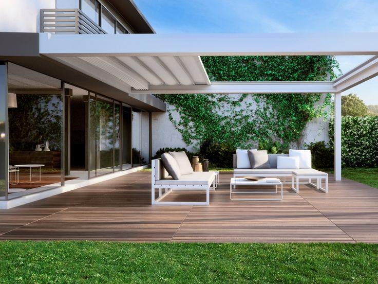 Alles wat je moet weten over terrasoverkappingen: van a tot z • Foto: www.harol.be • (houten terras • tuin)
