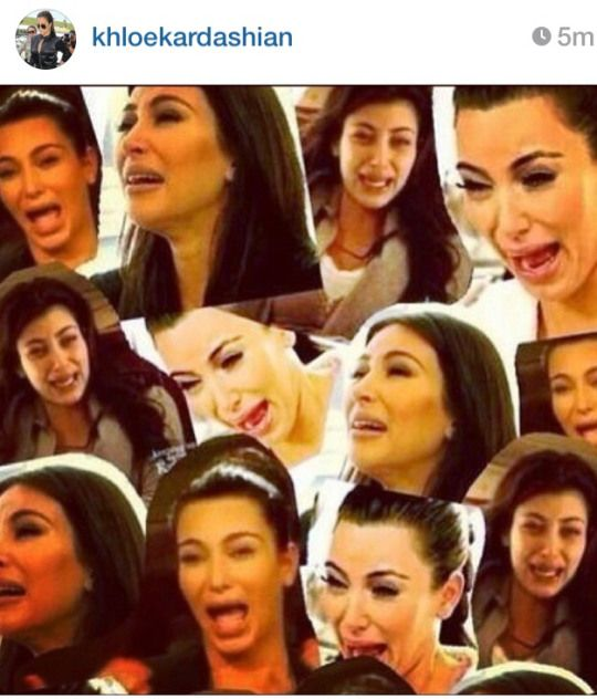 55 best ugly cry faces images on pinterest ha ha so - Kim kardashian crying collage ...
