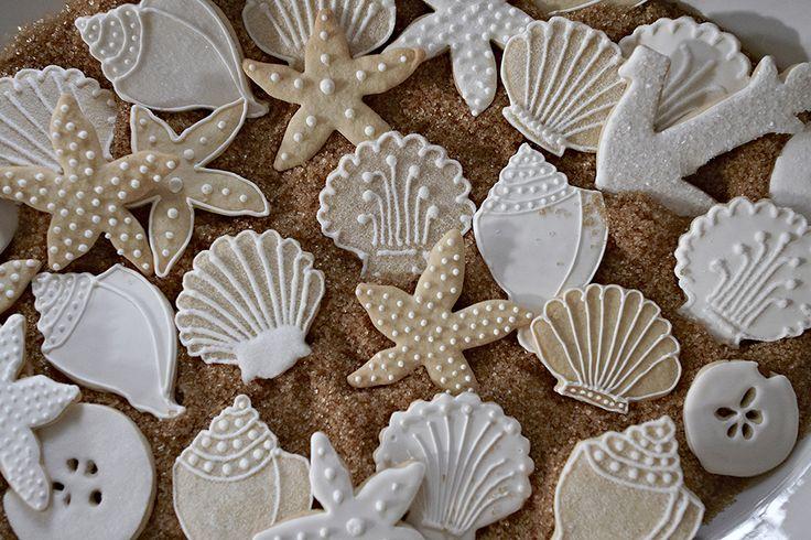 Seashell Sugar Cookies | Nora Murphy Country House