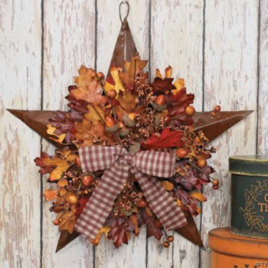 Fall Decorating Craft Ideas | ... Door Wreaths Offering Great Craft Ideas and Cheap Fall Decorations