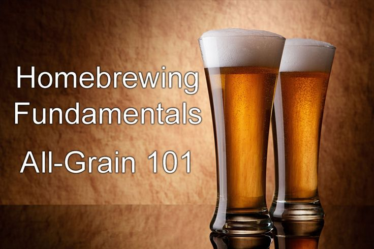 In this video, the steps involved in all-grain brewing at home; from grain to the fermenter are explained.