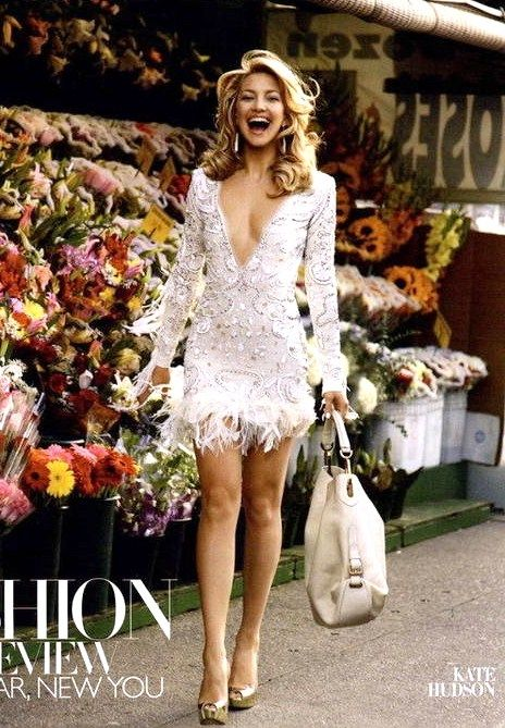 Not for me, it's just so cute I had to pin.  Kate Hudson in a white flapper dress