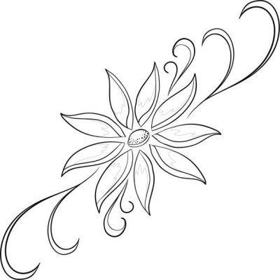 M s de 25 ideas fant sticas sobre flores para dibujar for Comedor facil de dibujar