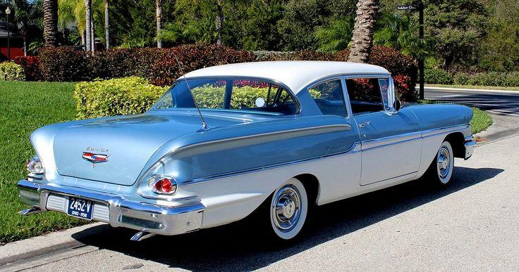 1958 Chevrolet Biscayne 2-Door Sedan