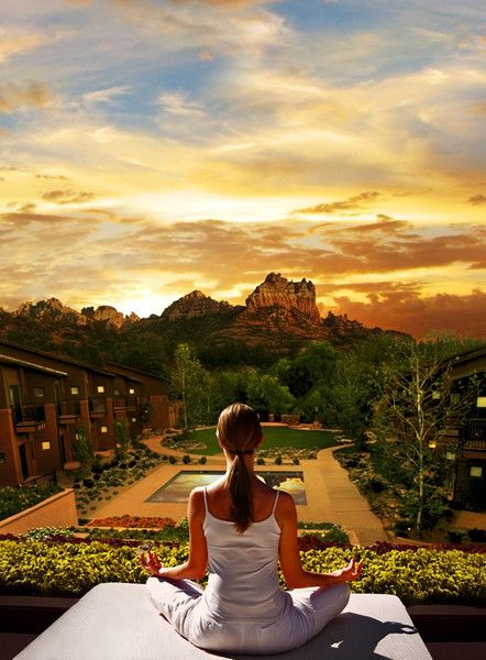 Sedona - Hiking all day, luxurious spa hotel at night Via ~LadyLuxury~