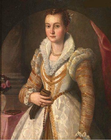 A Young Woman, ca. 1565 (attributed to Santi di Tito) (1536-1603) Pandolfini Auction, Firenze, 11 June, 2009, Lot 43