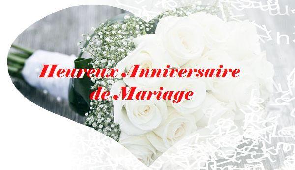 Mots damour pour anniversaire de mariage