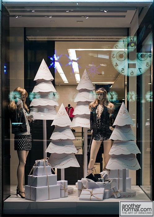 Chanel Holiday Window