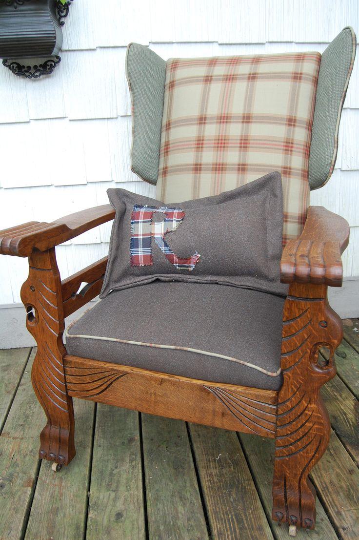 Antique 'Morris Chair' recliner from Vintique Venue on FB