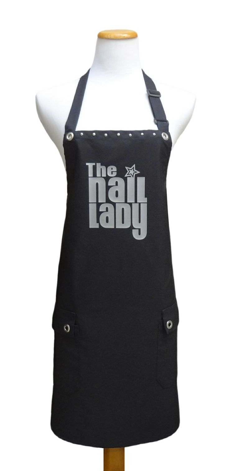"""The Nail Lady"" salon apron from TrendySalonAprons.com"