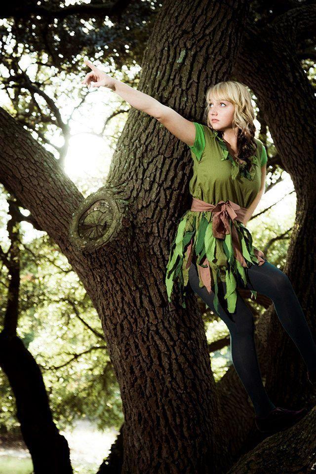 Peter Pan girl costume