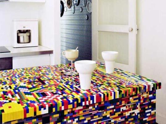Incredible Kitchen Renovated with LEGOs | Inhabitat - Sustainable Design Innovation, Eco Architecture, Green Building