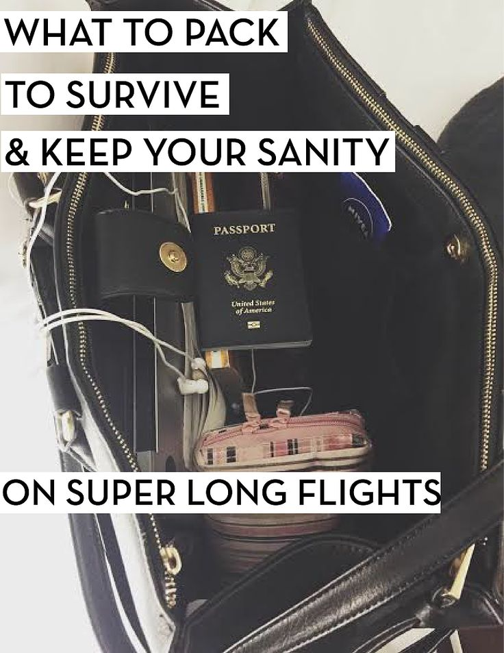 Pack in your carry on:1. Spare bag: so when you put your big carry-on in the overhead compartment, you have your necessities in a spare bag next to your s