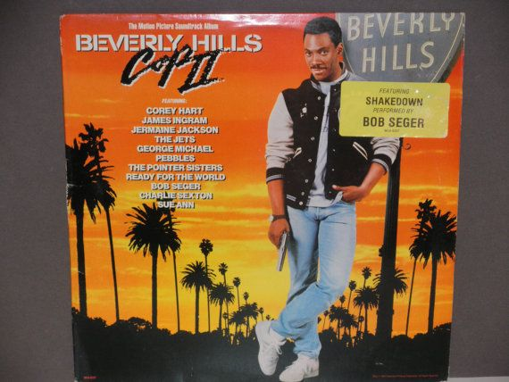 Beverly Hills Cop II  Motion Picture by notesfromtheattic on Etsy, $8.50