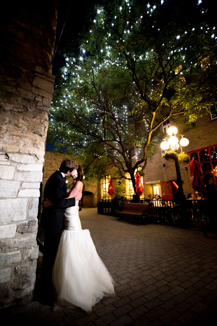 Michelle and James' downtown Ottawa wedding at the Courtyard in the Byward Market