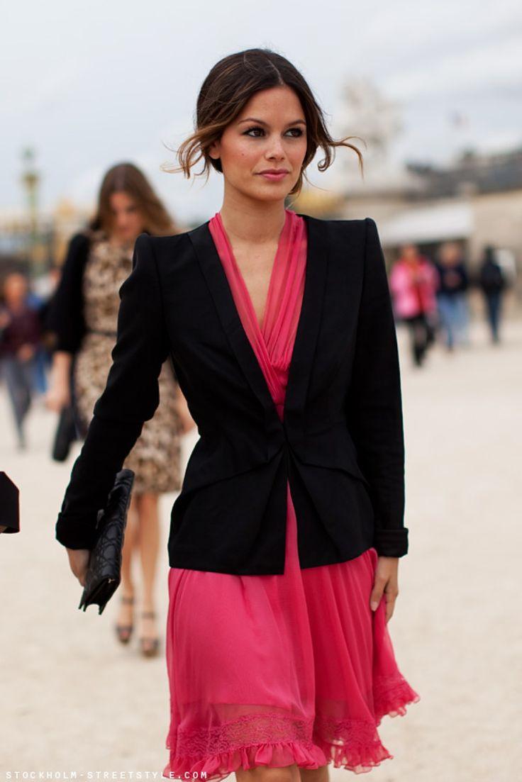 Rachel Bilson - Dior chiffon dress
