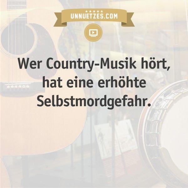 Mehr Infos: http://www.unnuetzes.com/wissen/15455/countrymusik-selbstmordrate/