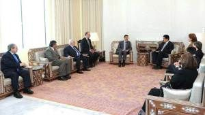 ALBA steunt Assad