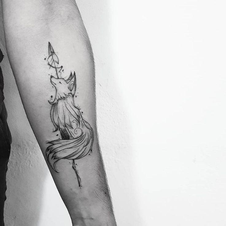 Tattoo Ideas Small Fox Tattoo Tattoos Body Art Tattoos