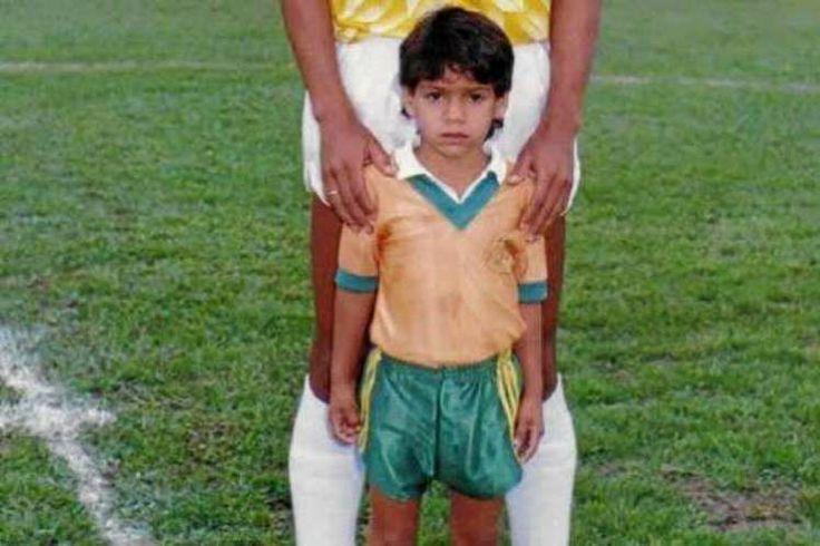 O gene esportivo - seu pai era jogador de futebol, e justamente uma transferência de clube causou a mudança do garoto colombiano para a Venezuela - estava presente no seu sangue e também no nome. Afinal, 'Falcao' é uma homenagem ao craque do Internacional e da seleção brasileira nos anos 80 (© Divulgação)