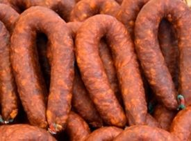 Homemade Chorizo Sausage Ingredients