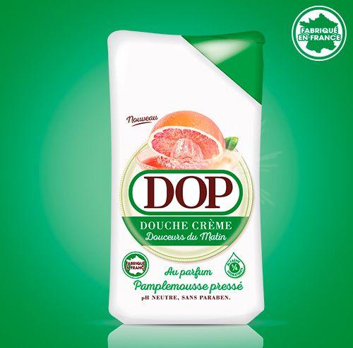 Douche Crème au parfum de Pamplemousse Pressé dop