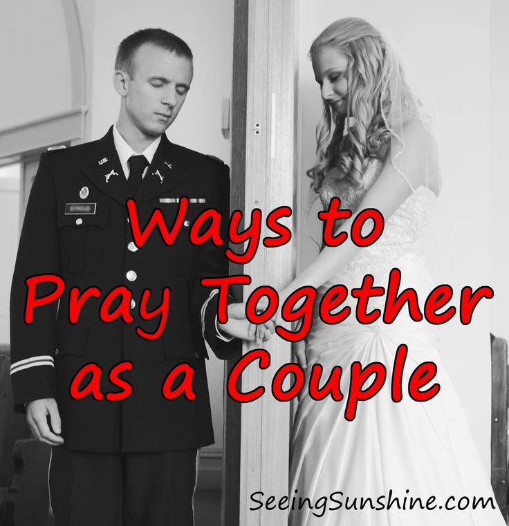 6 Ways to Pray Together as a Couple + 8 Things to Pray About // Seeing Sunshine