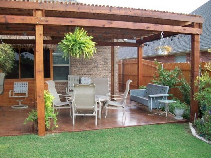 12 Great Ideas For A Modest Backyard: 12 Best Images About Space Saving In A Small Patio On